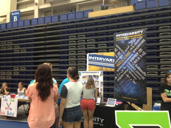 Students signing up to receive more info about IV.
