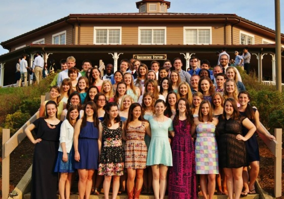 CNU InterVarsity Chapter at Rockbridge, May 2014